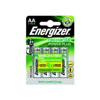ENERGIZER  Rechargeable Power Plus AA x 4 2000 Mah E300626700, (1 u.)