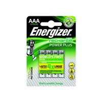 ENERGIZER  Rechargeable Power Plus AAA x 4 700 mAH E300626600, (1 u.)