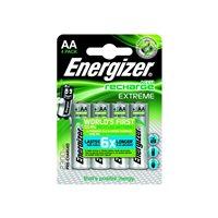 ENERGIZER Blister4 Pilas Recargables HR06 Extreme AA 2300 E300624600, (1 u.)