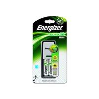 ENERGIZER Cargador Mini Charger + 2AA 2000 mAH Incluidas E300321000, (1 u.)