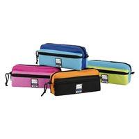 VIQUEL Portatodo Triple Zip Teknik 220x90x65mm. poliéster Colores surtidos 97973405, (12 u.)
