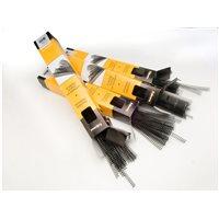 FELLOWES Pack de 100 Espirales Metálicas Negras 24 MM Esp024, (1 u.)
