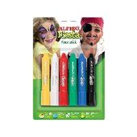 ALPINO Pinturas Maquillaje 6 ud 5 gr Barra DL000014, (1 u.)
