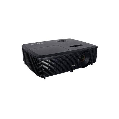 OPTOMA Proyector portátil W331 DLP/WXGA 1280x800/3300 lúmenes/HDMI/USB/VGA/full 3D/negro V11H694040, (1 u.)