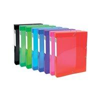 EXACOMPTA Carp.proyecto lomo ancho 40mm p.p.,para A4, colores brillantes,8 colores surtidos 59770E, (1 u.)