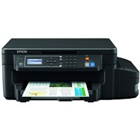 EPSON Impresora multifunción tinta Ecotank ET-3600 color/33 ppm/wifi/negro C11CF73401, (1 u.)