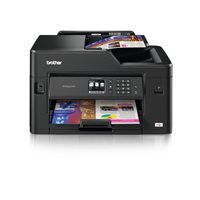 BROTHER Impresora multifunción tinta MFC-J5330DW color 22 ppm/4800 x 1200 ppp/Wifi/Negra, (1 u.)