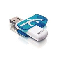 PHILIPS Memoria USB 3.0 Vivid Edition 16 GB azul FM16FD00B, (1 u.)
