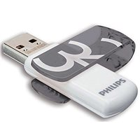 PHILIPS Memoria USB 3.0 Vivid Edition 32 GB gris FM32FD00B, (1 u.)
