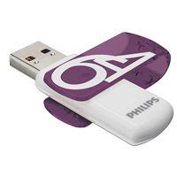 PHILIPS Memoria USB 3.0 Vivid Edition 64 GB morado FM64FD00B, (1 u.)