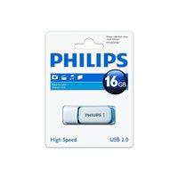 PHILIPS Memoria USB 2.0 Snow Edition 16 GB azul FM016FD70B, (1 u.)