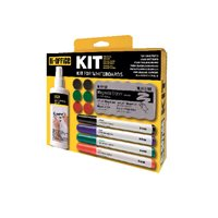 BI-OFFICE Kit Pizarra blanca KT1010, (1 u.)