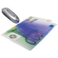 SAFESCAN Detector Billetes Falsos S-35 Todas las divisas. 112-0267, (1 u.)