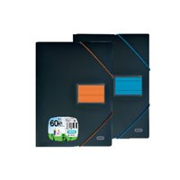 ELBA Carpetas fundas 100 fundas A4 Colores surtidos 400023724, (10 u.)