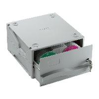 DATALINE Archivador CD/DVD capacidad 120 discos modular y apilable 067228, (1 u.)