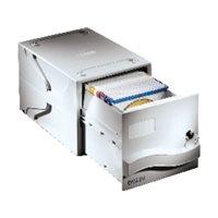 DATALINE Archivador CD/DVD capacidad 160 discos cerradura llave gris 67092, (1 u.)