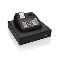 OLIVETTI Caja registradora ECR 7700 LD Eco Plus alfanumérica térmica/VFD/negra B4867001, (1 u.)