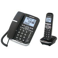 DAEWOO TELÉFONO COMBO DECT+HILOS DW0075, (1 u.)