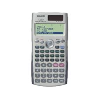 CASIO Calculadora Financiera FC-200 Financiera 12 digitos Solar y pila FC-200, (1 u.)
