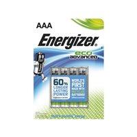 ENERGIZER BLISTER 4 PILAS ECO ADVANCE LR03-E92 AAA E300128100, (1 u.)