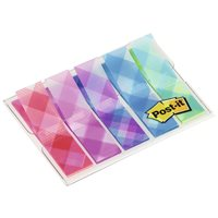 POST-IT INDEX 1/2PULGADA DECORADO. DISPENSADOR FUNDA 5X20 70005277119, (6 u.)