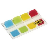 POST-IT INDEX RIGIDO MINI ROJO,AMARILLO,LIMA, AZUL DISPENSADOR FUNDA 4X10 70005276285, (6 u.)