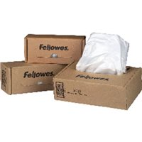 FELLOWES Bolsas residuos para destructora Pack 50 ud 165L 36055, (1 u.)