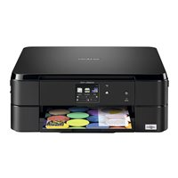 BROTHER Impresora multifunción de tinta A4/6000 x 1200 ppp/12ppm/negra DCPJ562DW, (1 u.)