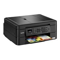 BROTHER Impresora multifunción de tinta A4/6000 x 1200 ppp/12ppm/negra MFCJ480DW, (1 u.)