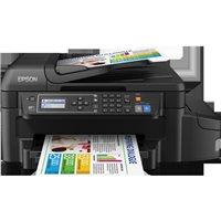 EPSON Impresora multifunción tinta Ecotank ET-4550 color/33ppm/wifi/negra C11CE71404, (1 u.)