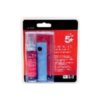 5 STAR Kit de limpieza para tablets y smartphones 25 ml con gamuza para secado 50991209, (1 u.)