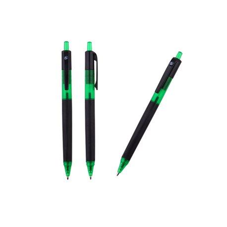 5 STAR Boligrafo retractil  verde trazo 0,5 mm 961002, (12 u.)