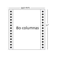 FBS C.1000 FORMATOS PAPEL Autocopiativo 3 Hojas 240X11'' Blanco 16190, (1 u.)
