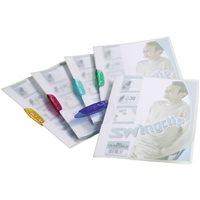 DURABLE Dossiers clip Swingclip translucido Capacidad 30 hojas A4 Rojo Polipropileno 2260-35, (25 u.)