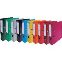 EXACOMPTA Archivador palanca 10ud A4 320x290x70mm Colores surtidos 53074E, (10 u.)