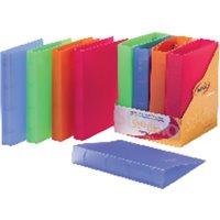 PARDO Expositor Carpetas Anillas 4-25MM Colores surtidos 12 Ud 852518, (1 u.)