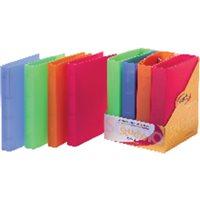 PARDO Expositor Carpetas Anillas 4-40 MM Colores Surtidos 8 Ud 854518, (1 u.)