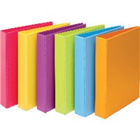 IBERPLAS Carpeta anillas Colorfun folio 4-40 MM Colores surtidos Personalizable 8327FCM4, (6 u.)