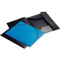 VIQUEL Carpeta Gomas 3 solapas A4 Azul Polipropileno 13300208, (25 u.)