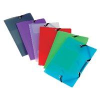 VIQUEL Carpeta Gomas 3 solapas A4 Colores surtidos 11338305, (12 u.)
