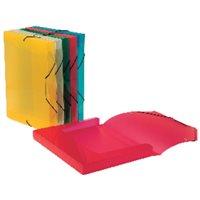 VIQUEL Carpeta de proyectos  lomo 30mm colores surtidos Polipropileno A4  02138305, (12 u.)
