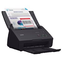 BROTHER Escaner documental ADS-2100e A4/1200 x 1200 ppp/24 ppm/negro, (1 u.)