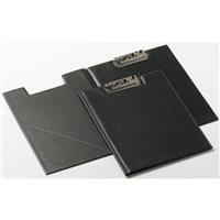 IBERPLAS Carpeta miniclip Folio Negro Pvc 36800, (8 u.)
