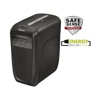 FELLOWES Destructora Personal 60 Cs Capacidad 9h. 22L corte partículas 4x50 mm 4606101, (1 u.)
