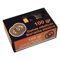 NO BRAND Gomas Elasticas Caja 100gr 6 cm 320519, (1 u.)