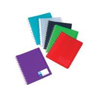 VIQUEL Carpetas fundas 20 fundas A4 Colores surtidos 04648305, (12 u.)