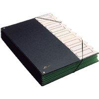 PARDO Carpeta clasificadora 9 departamentos Folio Con Fuelle Pvc 850, (1 u.)