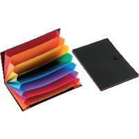 VIQUEL Carpeta clasificadora Rainbow Class 8 posiciones A4 Polipropileno 11008705, (12 u.)