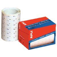 APLI Etiquetas en rollo 2520 ud 16x22 mm Blanca 10087, (1 u.)
