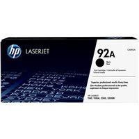 HP Toner Laser 92A Negro  C4092A, (1 u.)